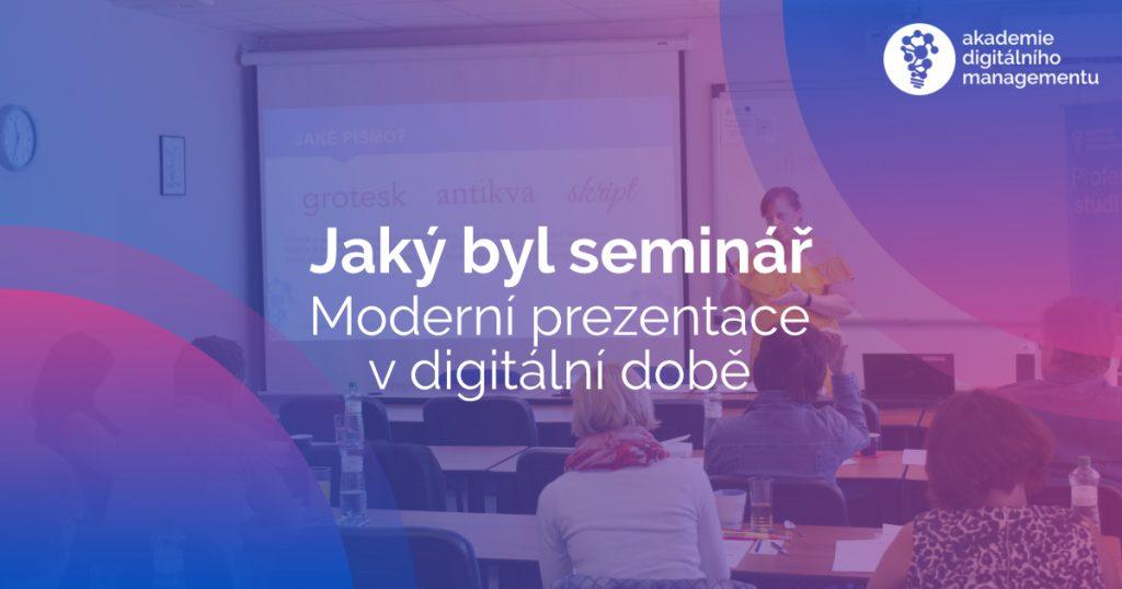 Moderní prezentace v digitální době