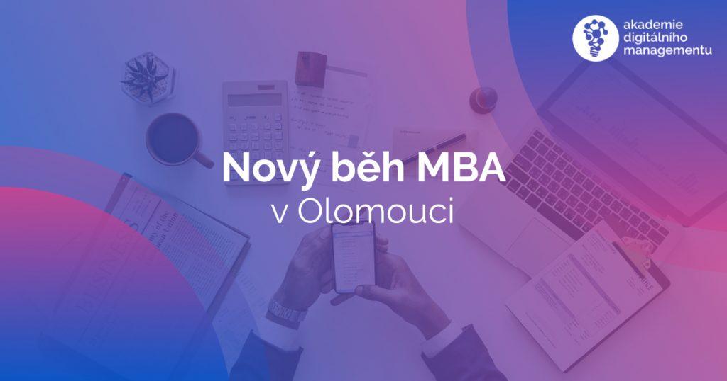 První seminář se již blíží - Představení nového běhu Profesního studia MBA v Olomouci